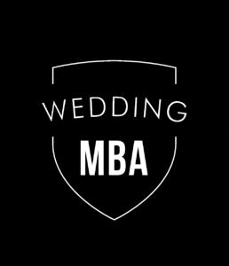 Wedding MBA badge
